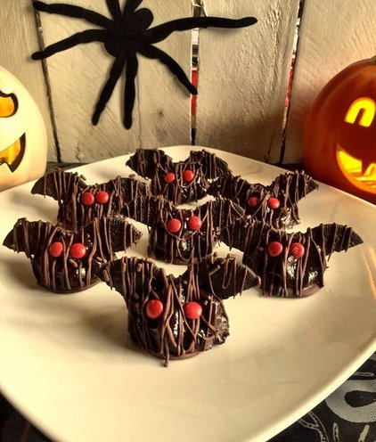 Brownie Truffle Bats Recipe